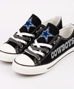 Dallas Cowboys Limited Low Top Canvas Sneakers T-DJ282H