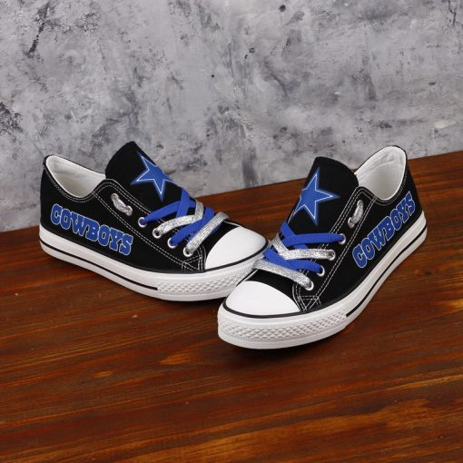 Dallas Cowboys Limited Low Top Canvas Sneakers T-DJ283H