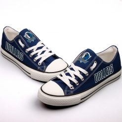 Dallas Mavericks Limited Low Top Canvas Sneakers