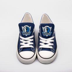 Dallas Mavericks Limited Low Top Canvas Shoes Sport