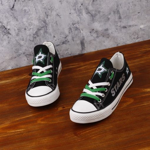 Dallas Stars Limited Low Top Canvas Sneakers
