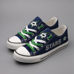 Dallas Stars Limited Low Top Canvas Shoes Sport
