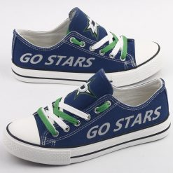 Dallas Stars Low Top Canvas Sneakers