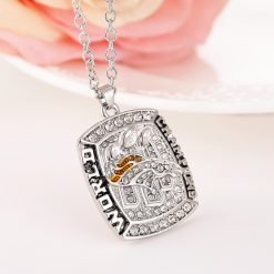 Denver Broncos Championship Necklace
