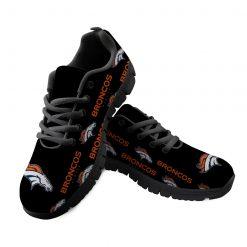 Denver Broncos Custom 3D Print Running Sneakers