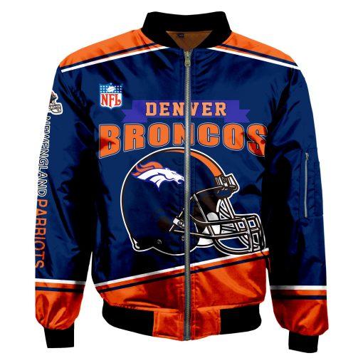 Denver Broncos Fans Bomber Jacket Unisex