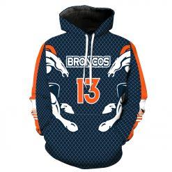 Denver Broncos Football Fans Hoodies