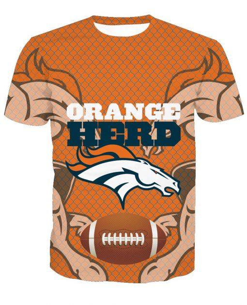 Denver Broncos Football Fans Casual T-Shirt