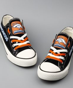 Broncos Limited Low Top Canvas Sneakers