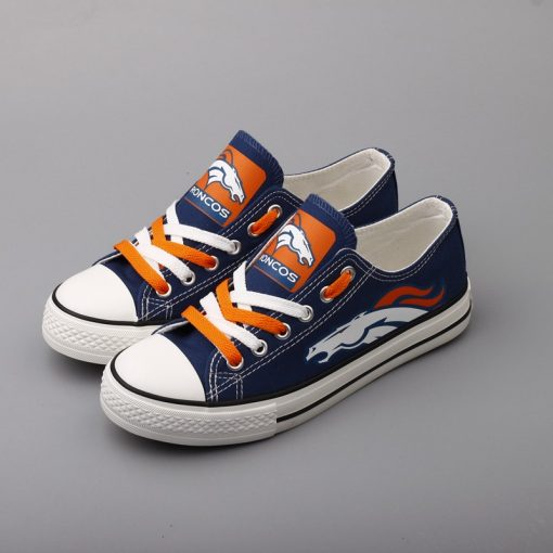 Broncos Limited Print Low Top Canvas Shoes Sport