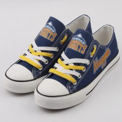 Denver Nuggets Limited Low Top Canvas Sneakers