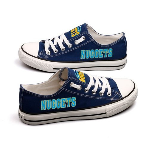 Denver Nuggets Limited Low Top Canvas Shoes Sport