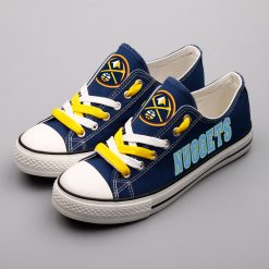 Denver Nuggets Limited Fans Low Top Canvas Sneakers