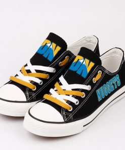 Denver Nuggets Low Top Canvas Sneakers