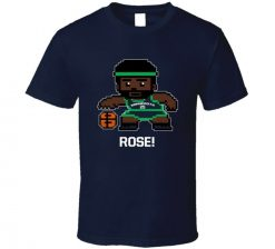 Derrick Rose Tecmo Player Minnesota Basketball Fan T Shirt