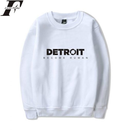 Detroit Become Human Sweatshirt Hot Game Steelers Spring Hoodie Pullover Regular Sweatshirts Clothes Plus Size XXS 1
