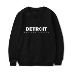 Detroit Become Human Sweatshirt Hot Game Steelers Spring Hoodie Pullover Regular Sweatshirts Clothes Plus Size XXS
