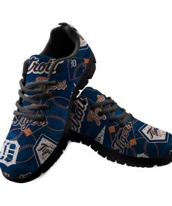 Detroit Tigers Custom 3D Running Shoes