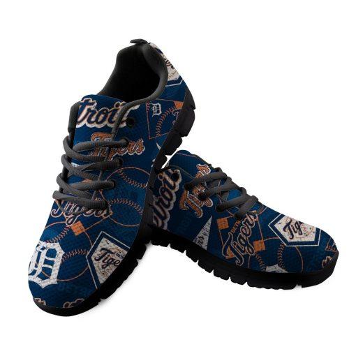 Detroit Tigers Custom 3D Running Shoes