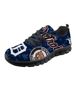 Detroit Tigers Flats Adults Casual Shoes Sports