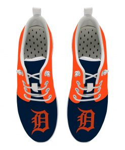 Detroit Tigers Custom Flats Wading Shoes Sport