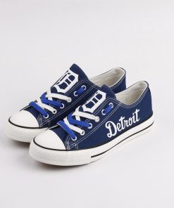 Detroit Tigers Limited Low Top Canvas Sneakers