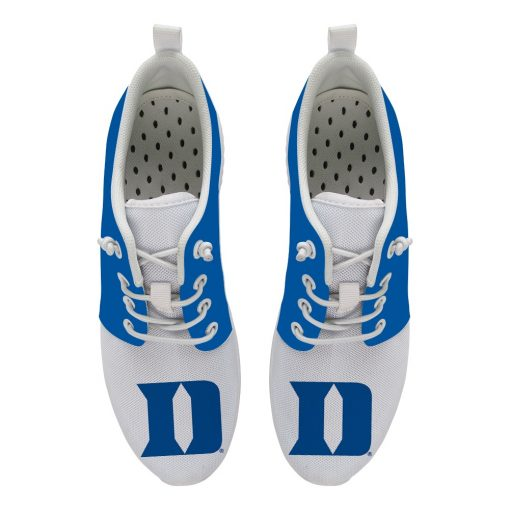 Duke Blue Devils Customize Low Top Sneakers College Students