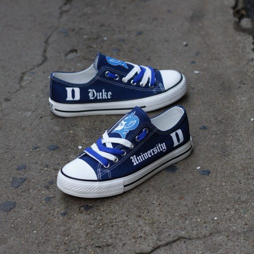 DukeBlueDevils Limited Low Top Canvas Shoes Sport