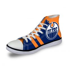 Edmonton Oilers Lace-Up Sport Shoes