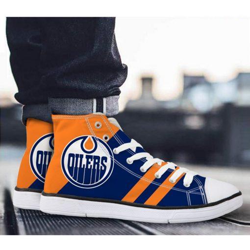 Edmonton Oilers Lace-Up Sport Shoes