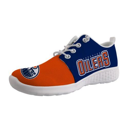Edmonton Oilers Custom Shoes Sport