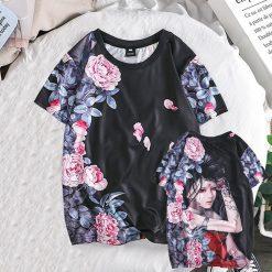 Fashion Lover Splash ink 3D Printing Tees Shirt Short Sleeve T Shirt Blouse Tops kansas city 2