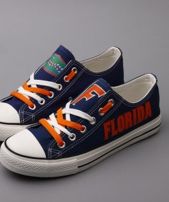 Florida Gators Limited Fans Low Top Canvas Sneakers