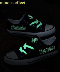 Florida State Seminoles Limited Luminous Low Top Canvas Sneakers