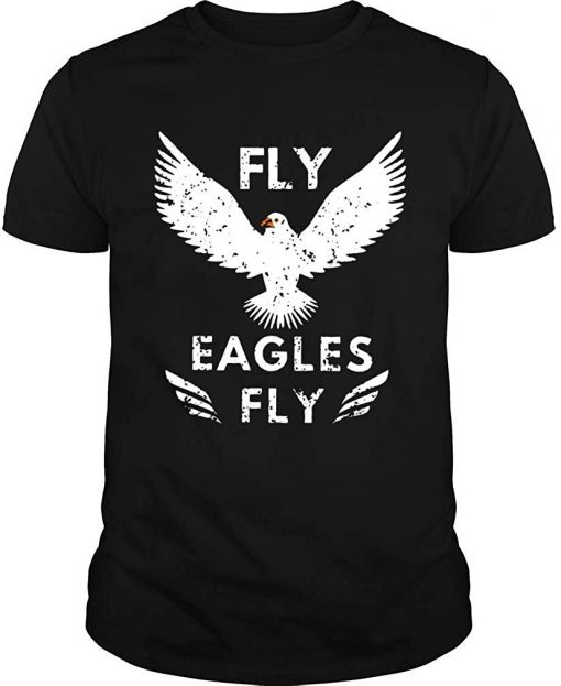 Fly Philadelphia Football 2019 2020 Season Eagle Tshirt TEE Shirt More Size And Colors
