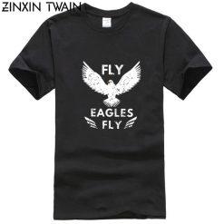 Fly Philadelphia football 2019 2020 season Eagle T shirt more sizes and colors