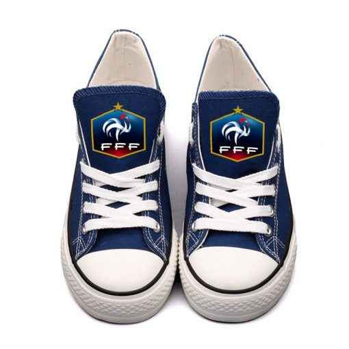 France National Team Low Top Canvas Sneakers