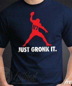 GRONK SPIKE T Shirt Gronkowski New England Football Fan Patriots Jersey Funny Tee Shirt Male Female