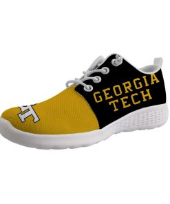 Georgia Tech Yellow Jackets Customize Low Top Sneakers College Students
