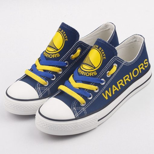 Golden State Warriors Limited Low Top Canvas Sneakers