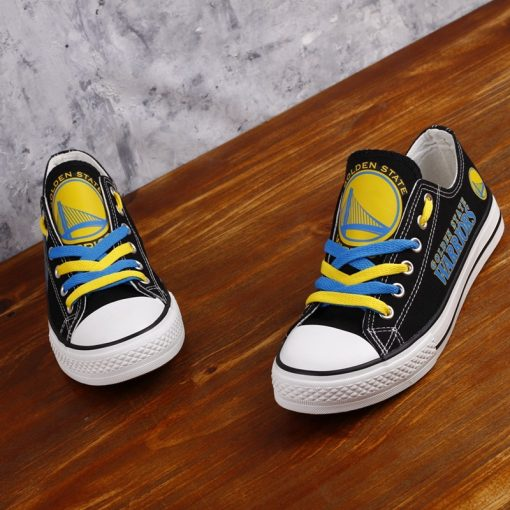 Golden State Warriors Limited Low Top Canvas Shoes Sport