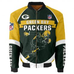 Green Bay Packers Bomber Jacket Unisex
