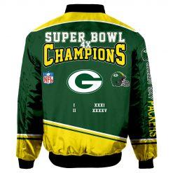 Green Bay Packers Fans Bomber Jacket Men Women