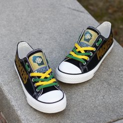 Green Bay Packers Limited Low Top Canvas Sneakers