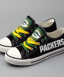 Packers Limited Low Top Canvas Sneakers