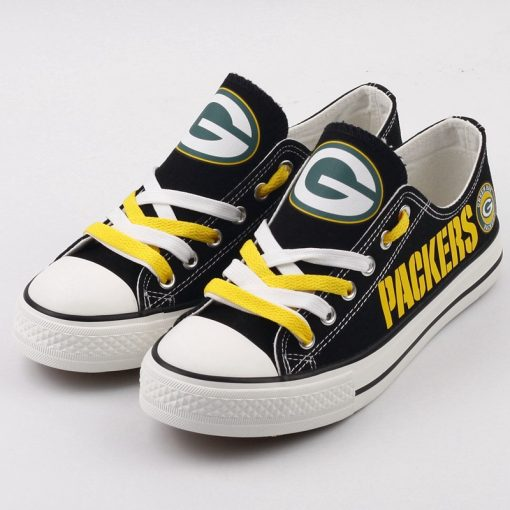 Bay Packers Limited Low Top Canvas Shoes Sport
