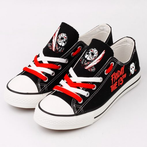 Halloween Friday the 13th Jason Voorhees Adults Running Shoes