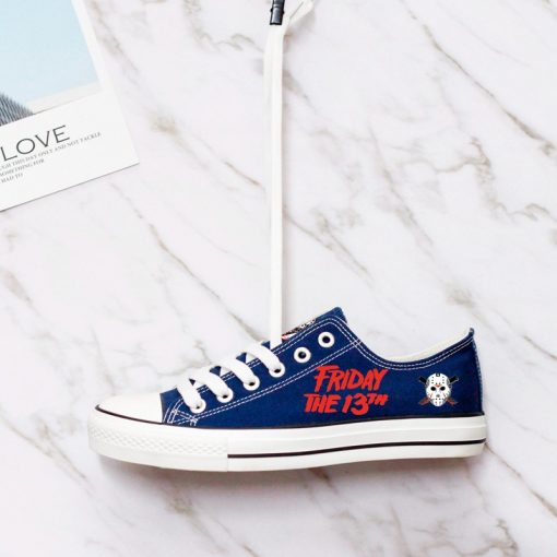 Halloween Friday the 13th Jason Voorhees Adults Running Sneakers