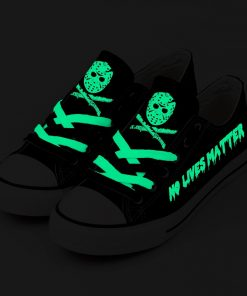 Halloween Friday the 13th Jason Voorhees Luminous Adults Running Shoes
