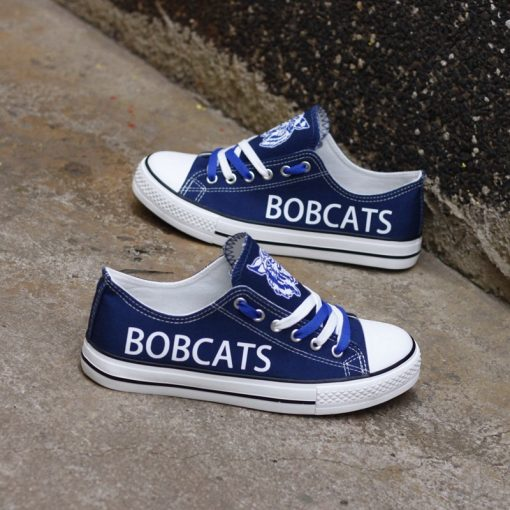 Hinsdale Bobcats Limited High School Students Low Top Canvas Sneakers